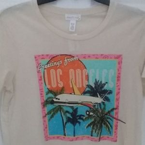 Tilly's Full Tilt Graphic L.A. T-shirt XL